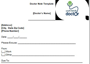Doctor Notes Samples Templates Buz